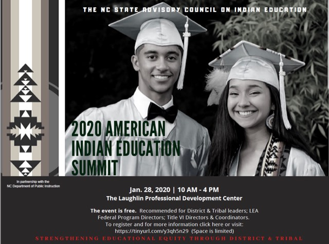 Nc State Graduation 2020.2020 American Indian Education Summit Coharie Tribe